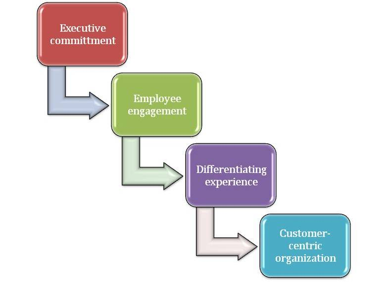 Steps to a Customer Centric Orginization